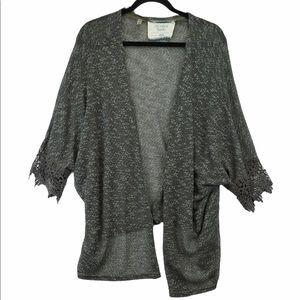 California Moonrise Lace Sweater Cardigan